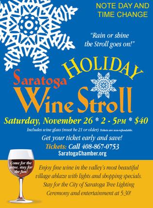 2016winestroll - Saratoga Holiday Wine Stroll
